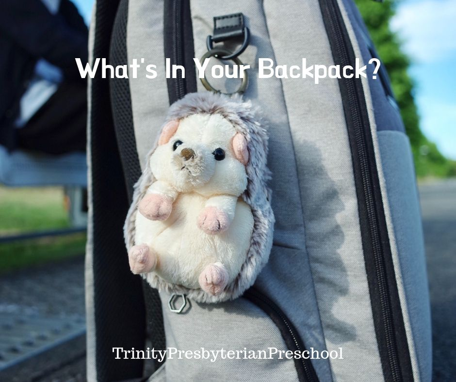 What's In Your Backpack_